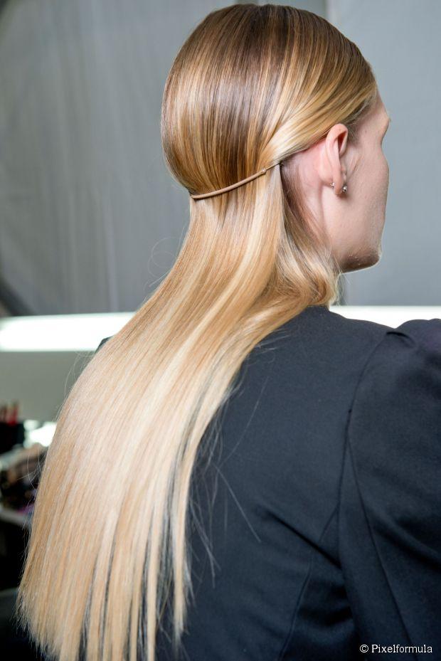 Wet-Look Haar-Ideen für das echte Leben - Stile, die abseits der Piste arbeiten