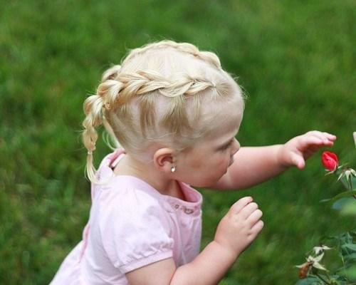 20 super süße Babymädchen Frisuren