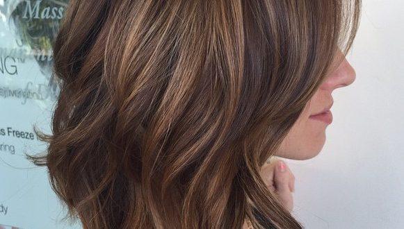 80 sensationelle Haarschnitte mittlerer Länge für dickes Haar