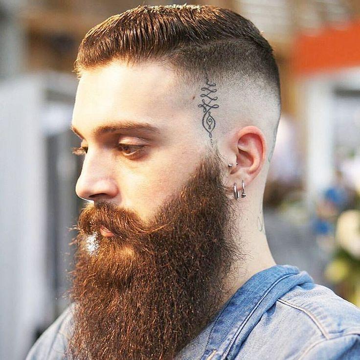 10 Bald Fade Haarschnitte mit tollen Beards - Trend im Jahr 2018
