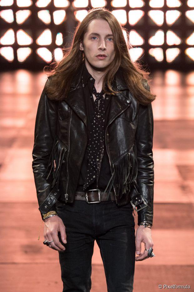 Frisur Inspiration für Männer: Boho-Chic auf der Pariser Fashion Week