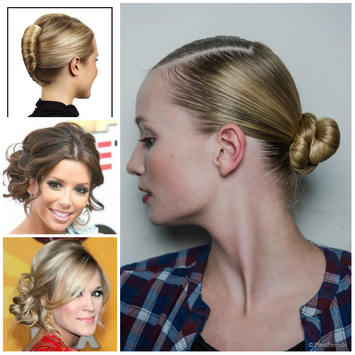 Neu Pretty Updo Hairstyles for Midi Hair
