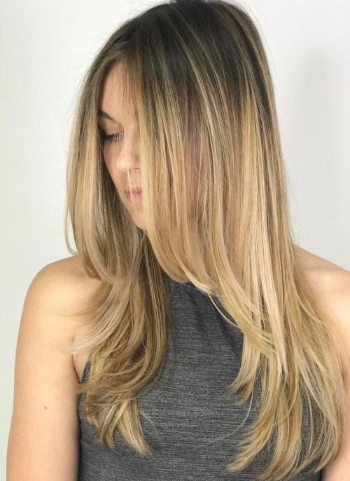 80 Cute Layered Frisuren und Schnitte für langes Haar