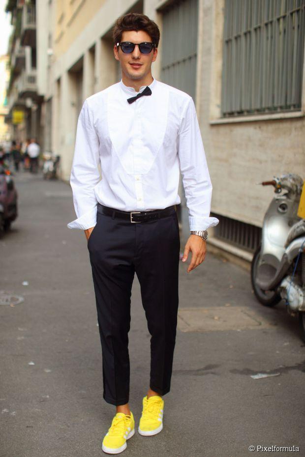 Men's Hair Tutorial: Wie man dickes Haar für einen formellen Anlass zähmt