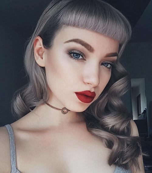 40 Pin Up Frisuren für das Vintage-liebende Mädchen