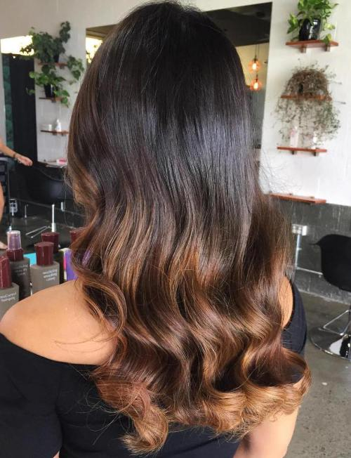 60 besten Ombre Haarfarbe Ideen für blond, braun, rot und schwarz Haar