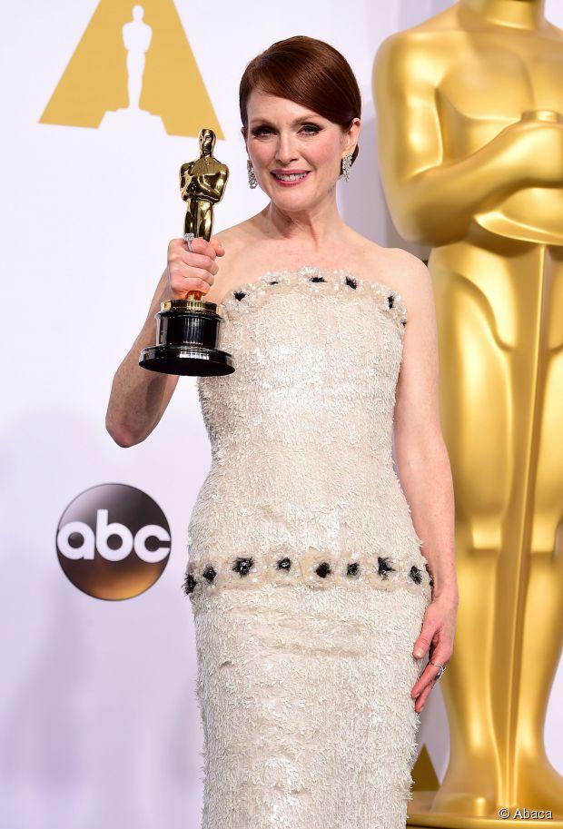 Oscars Neu: Beste Schauspielerin Julianne Moore Hochsteckfrisur