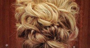 40 kreative Hochsteckfrisuren für lockiges Haar