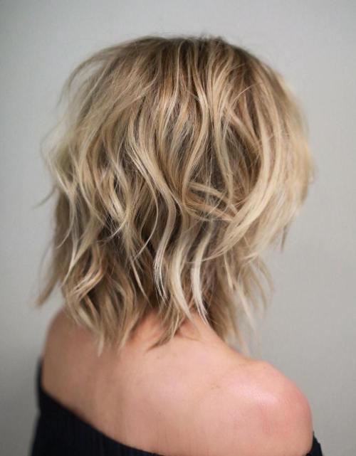 50 Beste Variationen einer mittleren Shag Haircut für Ihren unverwechselbaren Stil