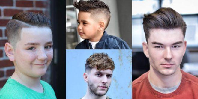 33 am coolsten und trendy Jungenhaarschnitte 2018