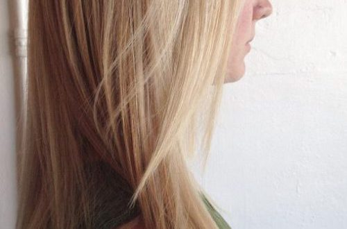 Kühle hellblonde Haarfarben