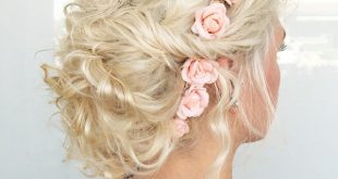 20 weiche und süße lockige Hochzeitsfrisuren