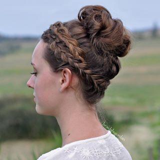 Classy und elegante Brötchen Frisuren Neu