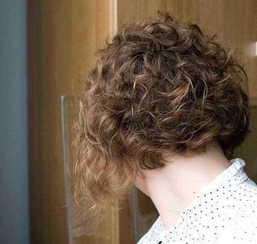 21 stilvolle und glamouröse Curly Bob Frisur für Frauen