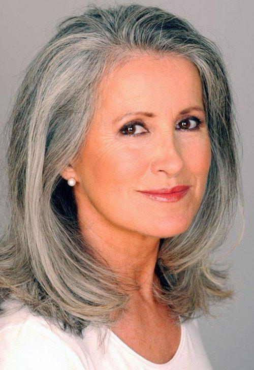 Moderne Frisuren für Frauen über 60