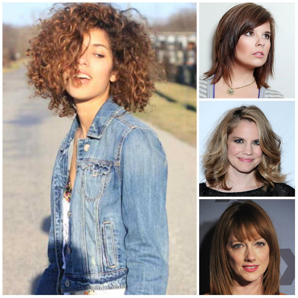Schulter-Länge Layered Frisuren für das Jahr Neu