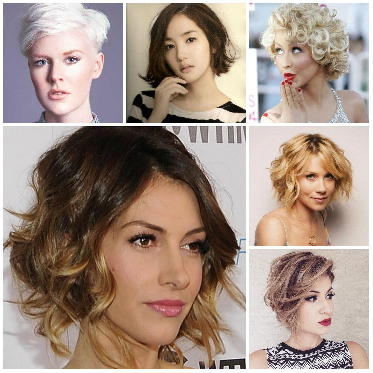 Kurze unordentliche Frisur Inspiration für Neu